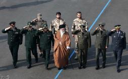 تصاویر حضور فرمانده کل قوا در دانشگاههای افسری ارتش,عکس های حضور فرمانده کل قوا در دانشگاههای افسری ارتش,تصاویر علی خامنهای