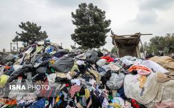 تصاویر گاراژ تفکیک زباله اشرفآباد,عکس های گاراژ تفکیک زباله اشرفآباد,تصاویر کارگران زبالهگرد در شهر ری