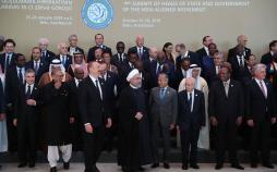 تصاویر مراسم اجلاس سران کشورهای عضو جنبش عدم تعهد,عکس های سیاستمداران جهان,تصاویر سفر روحانی به باکو