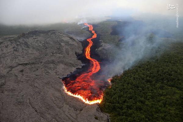گدازهای از آتشفشان پیتون,اخبار علمی,خبرهای علمی,نجوم و فضا