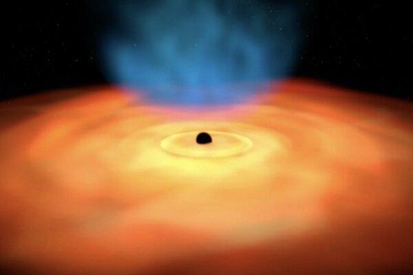 رصد کوچکترین سیاهچاله,اخبار علمی,خبرهای علمی,نجوم و فضا
