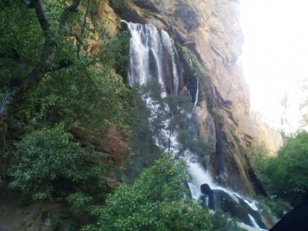 آبشار آب سفید الیگودرز,اخبار فرهنگی,خبرهای فرهنگی,میراث فرهنگی