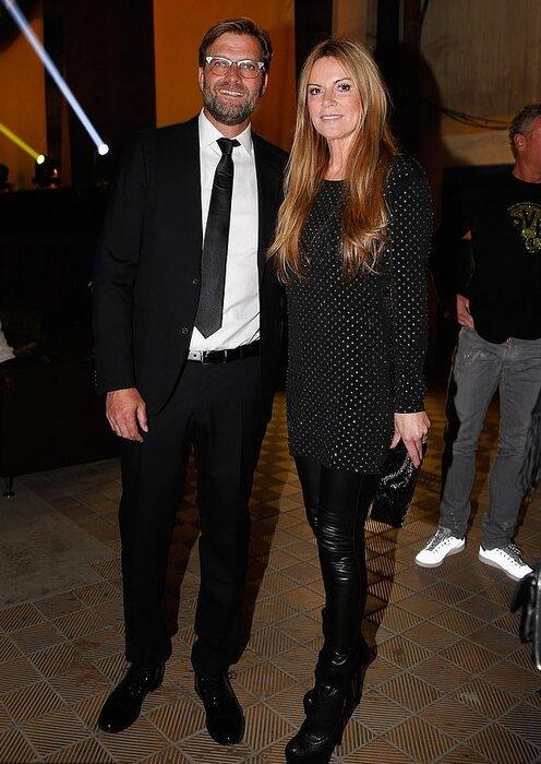 یورگن کلوپ و همسرش,اخبار فوتبال,خبرهای فوتبال,اخبار فوتبالیست ها