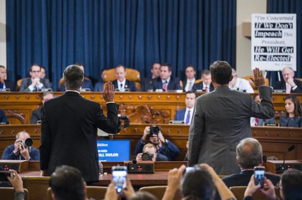 جلسه علنی استیضاح ترامپ,اخبار سیاسی,خبرهای سیاسی,اخبار بین الملل