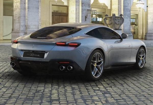 سوپراسپرت جدید فراری روما,اخبار خودرو,خبرهای خودرو,مقایسه خودرو