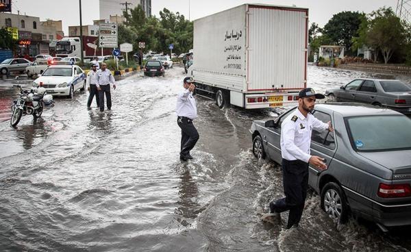 باران شدید و طغیان رودخانهها,اخبار اجتماعی,خبرهای اجتماعی,وضعیت ترافیک و آب و هوا