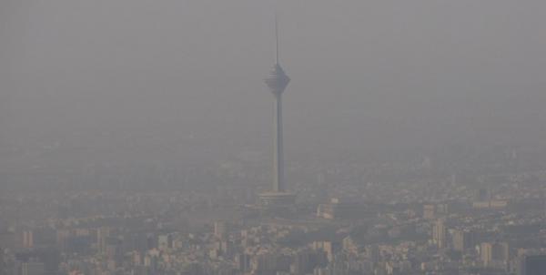 آلودگی هوا در تهران,اخبار اجتماعی,خبرهای اجتماعی,وضعیت ترافیک و آب و هوا