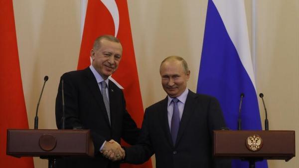 دیدار ولادیمیر پوتین و رجب طیب اردوغان,اخبار سیاسی,خبرهای سیاسی,خاورمیانه