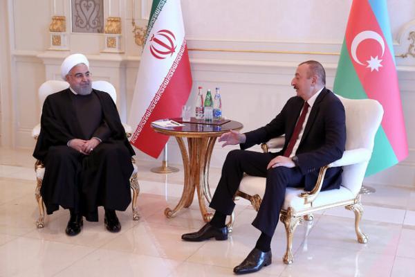 روحانی در دیدار رئیس جمهوری آذربایجان: ایران آماده ساخت نیروگاه در جمهوری آذربایجان است