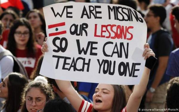 اعتراضات دانش آموزان در لبنان,اخبار سیاسی,خبرهای سیاسی,خاورمیانه