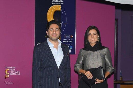 سارا بهرامی در مهمانی شام جشنواره فیلمهای پارسی در استرالیا,اخبار هنرمندان,خبرهای هنرمندان,جشنواره