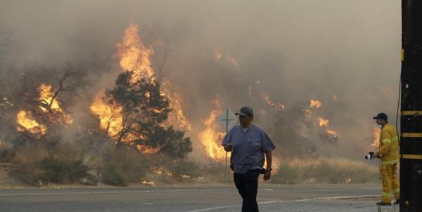 آتشسوزی در کالیفرنیا,اخبار حوادث,خبرهای حوادث,حوادث امروز