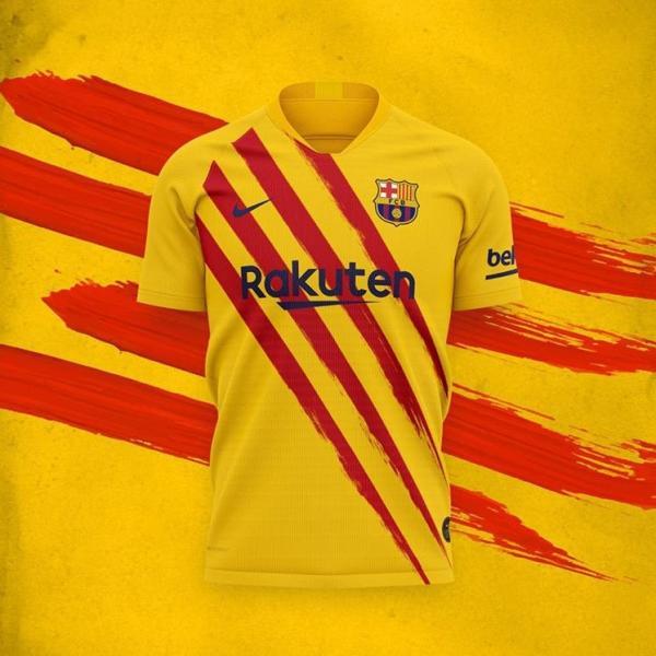 پیراهن جدید تیم بارسلونا,اخبار فوتبال,خبرهای فوتبال,اخبار فوتبال جهان
