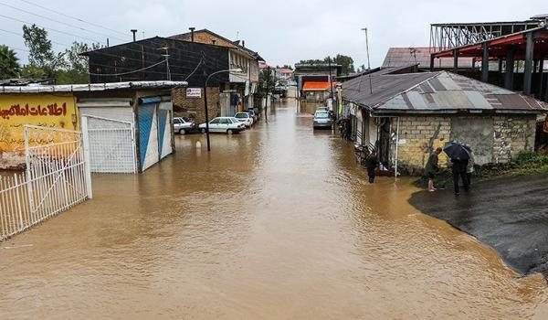 سیلاب ۳۰ واحد مسکونی گلوگاه را تخریب کرد