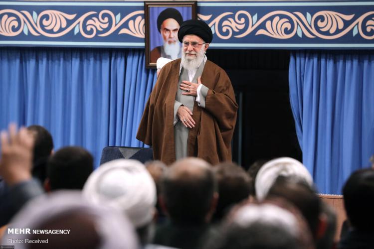 تصاویر رهبر انقلاب اسلامی,عکس های دیدار میهمانان کنفرانس بینالمللی وحدت با رهبر انقلاب,تصاویر رهبر انقلاب اسلامی