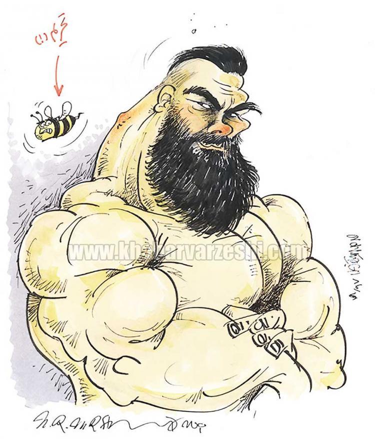 کاریکاتور امیر علیاکبری,کاریکاتور,عکس کاریکاتور,کاریکاتور ورزشی
