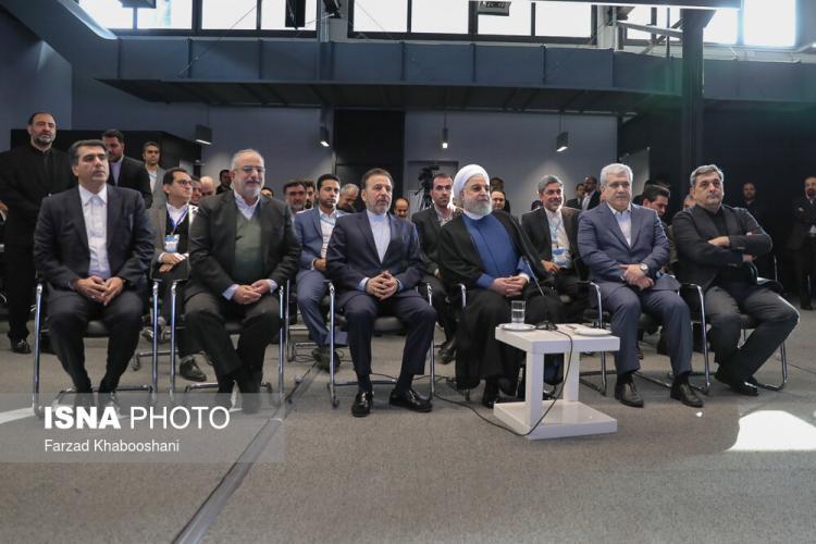 تصاویر افتتاحیه کارخانه نوآوری آزادی,عکس های سیاستمداران در کارخانه نوآوری آزادی,تصاویر کارخانه نوآوری آزادی
