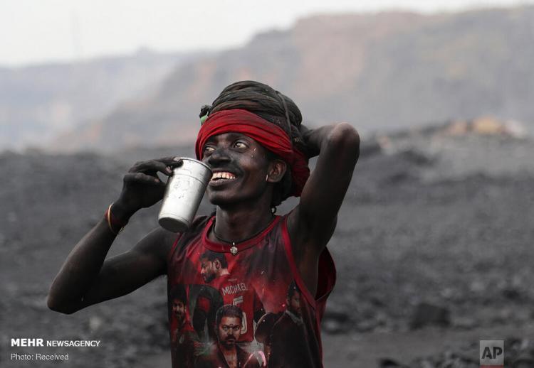 تصاویر صنعت تولید زغال سنگ در هند,عکس های معادل ذغال سنگ هند,تصاویر کسب و کار در هند