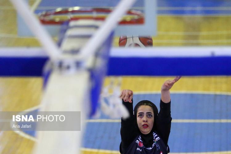 تصاویر مسابقات بسکتبال بانوان,عکس های بانوان ورزشکار,تصاویر دیدار تیم های بسکتبال بانوان تیمهای نامینو اصفهان و پاز تهران