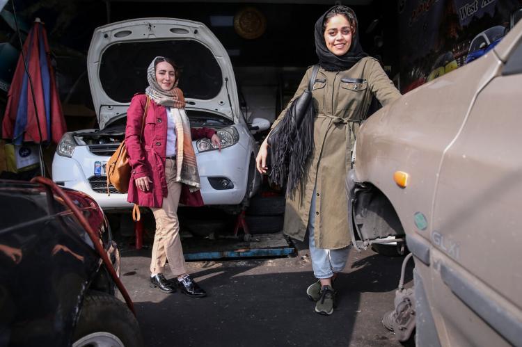 تصاویر دختران مکانیک,عکس های کیانا یار احمدی,تصاویر نیلوفر فرهمند