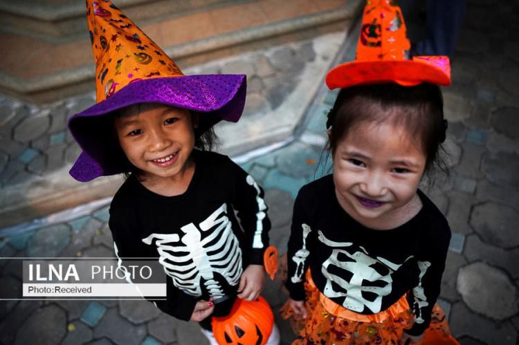 تصاویر جشن هالووین 2019,عکس های جشن هالووین 2019,عکس برگزاری جشن هالووین