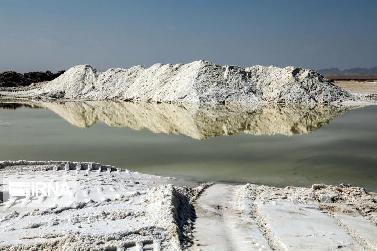 تصاویر حوضچه های نمک حسن آباد جرقویه,عکس های طبیعت حسن آباد,تصاویر منطقه جرقویه