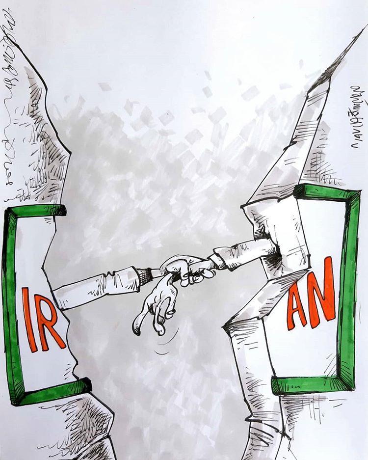 کارتون زلزله در استان آذربایجان شرقی,کاریکاتور,عکس کاریکاتور,کاریکاتور اجتماعی