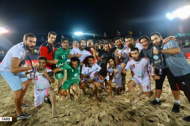 عکسهای صعود فوتبال ساحلی ایران,تصویر تیم فوتبال ساحلی ایران,تصاویری از صعود فوتبال ساحلی ایران