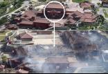 آتش سوزی قلعه تاریخی شوری,اخبار فرهنگی,خبرهای فرهنگی,میراث فرهنگی