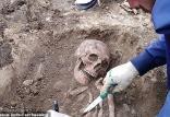 کشف اسکلت چند هزار ساله ی زن,اخبار جالب,خبرهای جالب,خواندنی ها و دیدنی ها