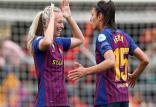 پیروزی تیم بارسلونا مقابل رئال مادرید,اخبار ورزشی,خبرهای ورزشی,ورزش بانوان