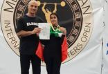 مدال دختر وزنه بردار ایران در قبرس,اخبار ورزشی,خبرهای ورزشی,ورزش بانوان