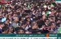 فیلم/ اخلال در سخنرانی رئیس جمهور در یزد و شعار اعتراضی مردم