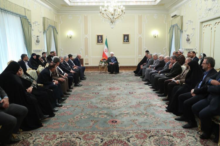 تصاویر دیدار اعضای هیئت دولت و حسن روحانی,عکس های دیدار اعضای هیئت دولت و حسن روحانی,تصاویر حسن روحانی