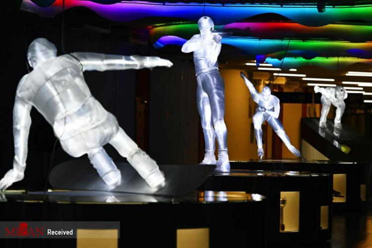 تصاویر نمایشگاه پارک مجسمههای یخی,عکس های نمایشگاه پارک مجسمههای یخی,تصاویر پارک مجسمههای یخی در سوچی روسیه