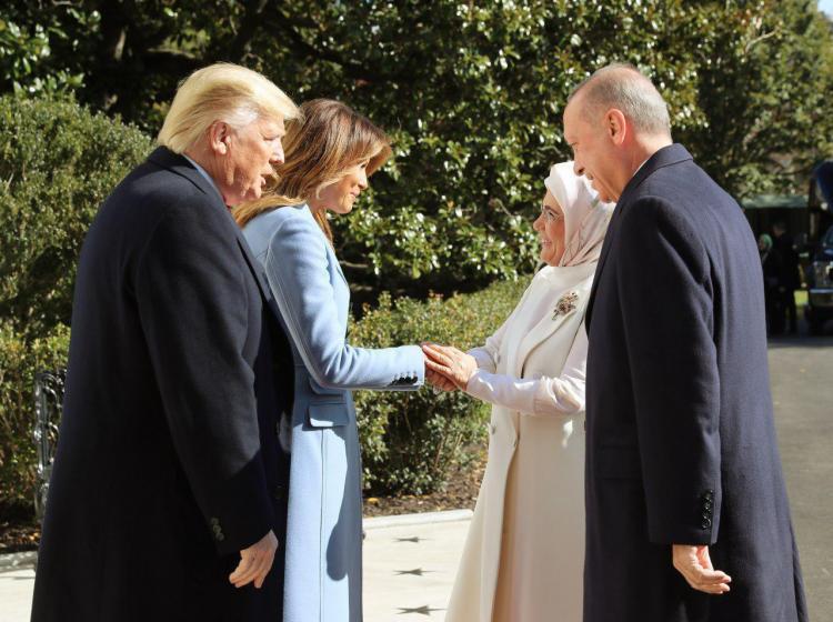 تصاویر دیدار اردوغان و دونالد ترامپ در کاخ سفید,عکس های اردوغان در آمریکا,تصاویر دیدار ترامپ و اردوغان