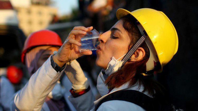 تصاویر اعتراضات عراق,عکس های تظاهرات اعتراضی در عراق,عکس های زنان در اعتراضات عراق