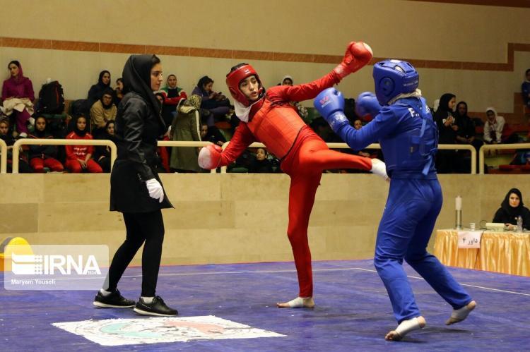 تصاویر مسابقات ووشوی قهرمان بانوان کشور,عکس های بانوان ورزشکار ایران,تصاویر مسابقات ووشو در تبریز