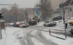 بارش برف در تهران,اخبار اجتماعی,خبرهای اجتماعی,وضعیت ترافیک و آب و هوا