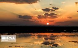 تصاویر غروب پاییزی تالاب گاوخونی,عکس های غروب پاییزی تالاب گاوخونی,تصاویر تالاب گاوخونی