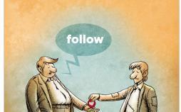 کارتون جذب فالوور در اینستاگرام,کاریکاتور,عکس کاریکاتور,کاریکاتور اجتماعی
