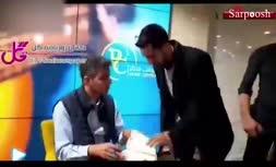 فیلم/ واکنش عادل فردوسی پور به شایعه گزارش دیدار عراق و ایران
