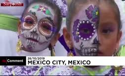 فیلم/ جشن روز مردگان در مکزیک