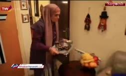 فیلم/ پخش صدای مزدک میرزایی از تلویزیون