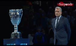 فیلم/ مراسم اهدای جام قهرمانی تور تنیس مردان 2019 به رافائل نادال