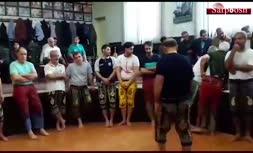 ویدیویی از ولیالله سیف در حال انجامورزش زورخانهای