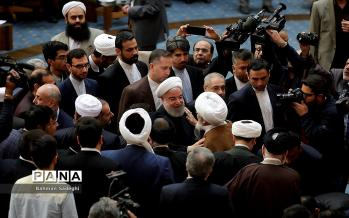 تصاویر افتتاح کنفرانس بینالمللی وحدت اسلامی,عکس های افتتاح کنفرانس بینالمللی وحدت اسلامی,تصاویر حسن روحانی