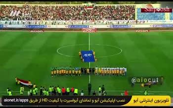 فیلم/ عراقیها هم به سرود ملی ایران توهین کردند