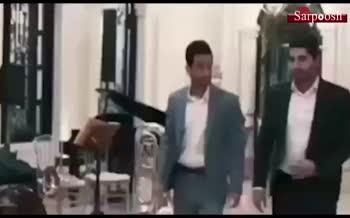 فیلم/ جشن نامزدی سیامک نعمتی با حضور بازیکنان پرسپولیس