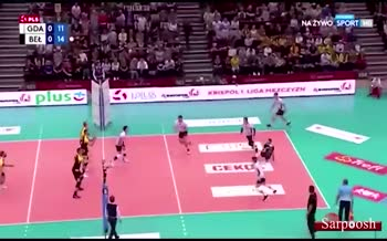 فیلم/ درخواست ویدئوچک برای بازی جوانمردانه در یک مسابقه والیبال